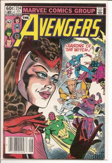Avengers # 234, 8.0 VF