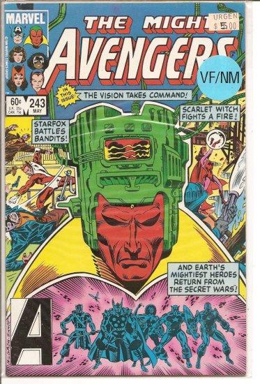 Avengers # 243, 9.0 VF/NM