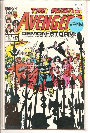 Avengers # 249, 9.0 VF/NM