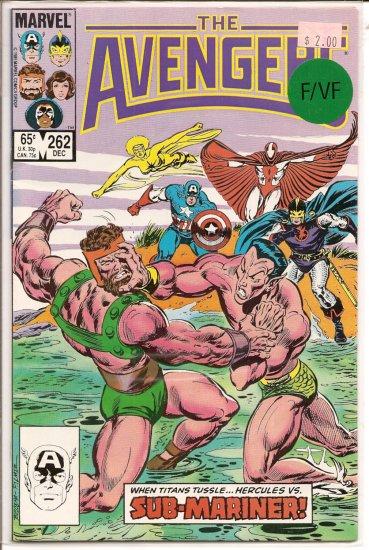Avengers # 262, 7.0 FN/VF
