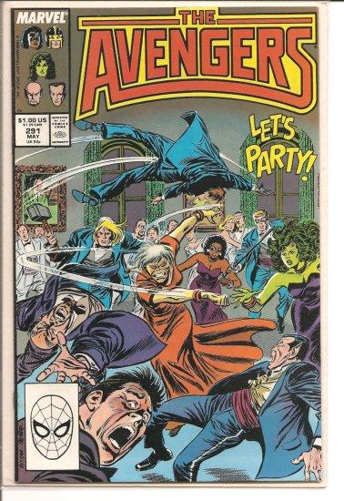 Avengers # 291, 7.0 FN/VF