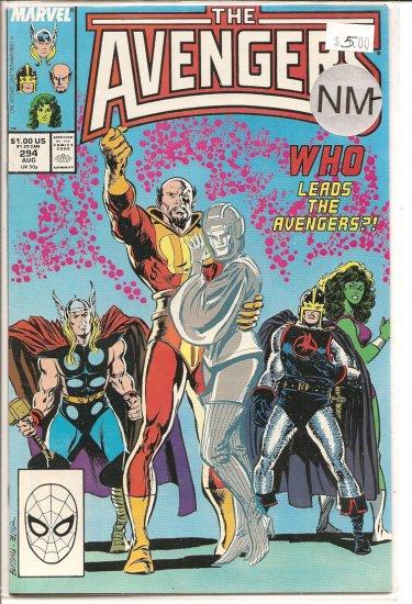 Avengers # 294, 9.2 NM -