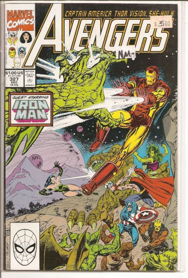 Avengers # 327, 9.2 NM -