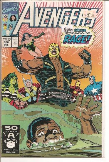Avengers # 328, 9.2 NM -