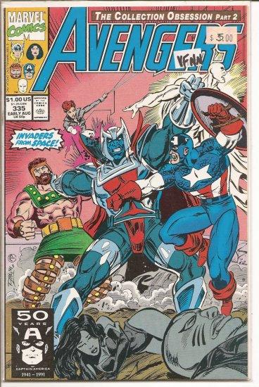 Avengers # 335, 9.0 VF/NM