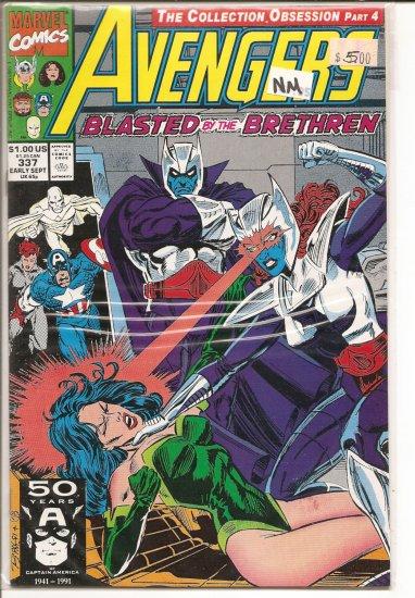 Avengers # 337, 9.4 NM