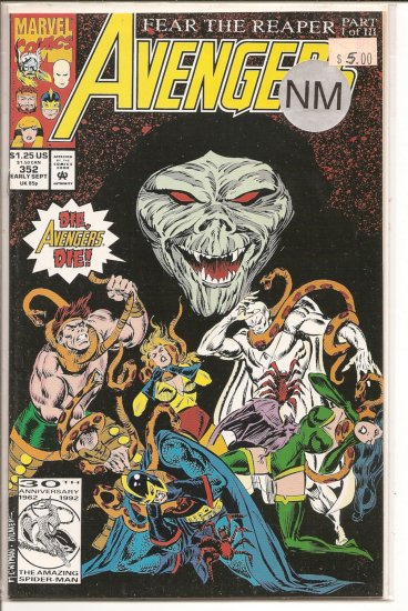 Avengers # 352, 9.4 NM