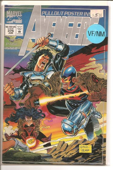Avengers # 375, 9.0 VF/NM