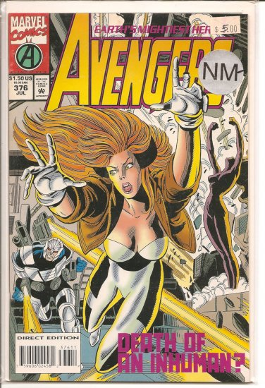 Avengers # 376, 9.2 NM -