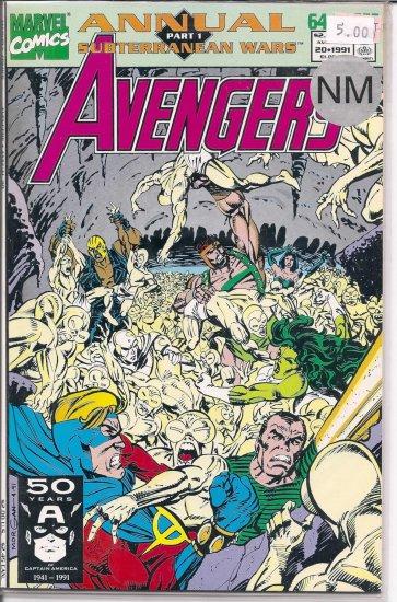 Avengers Annual # 20, 9.4 NM