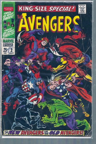 AVENGERS SPECIAL # 2, 2.5 GD +