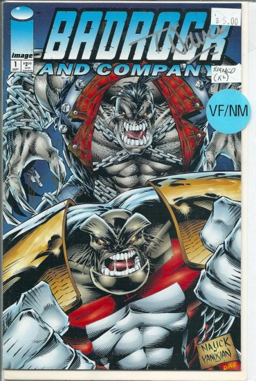 Badrock And Company # 1, 9.0 VF/NM