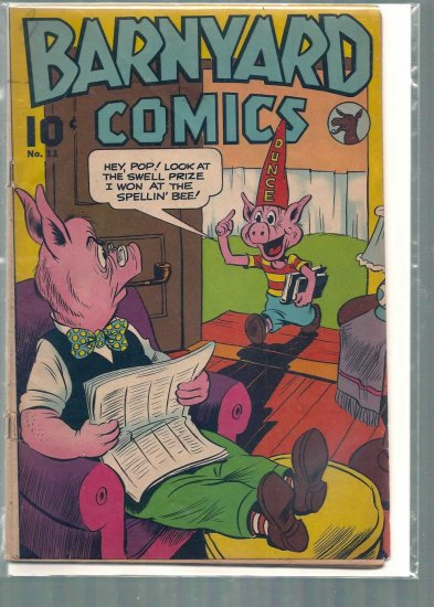 BARNYARD COMICS # 11, 2.5 GD +
