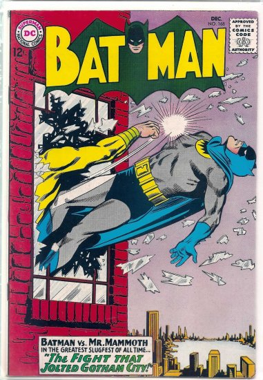 BATMAN # 168, 7.5 VF -
