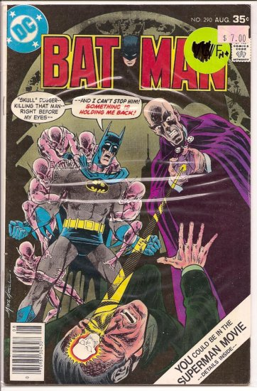 Batman # 290, 6.5 FN +