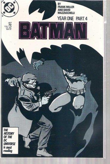 BATMAN # 407, 7.5 VF -