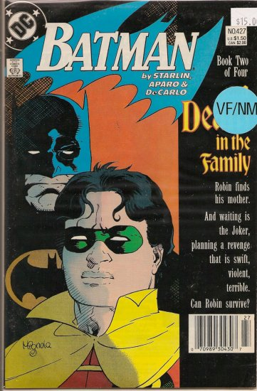 Batman # 427, 9.0 VF/NM