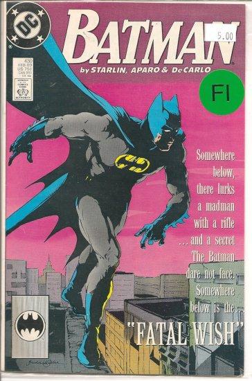 Batman # 430, 6.0 FN