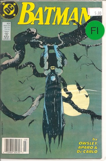 Batman # 431, 8.0 VF