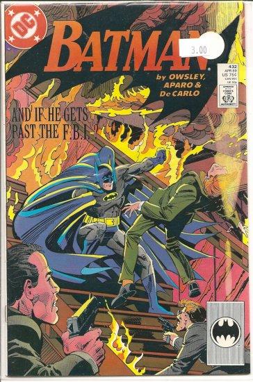 Batman # 432, 9.4 NM