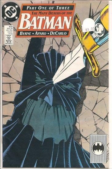 Batman # 433, 9.2 NM -