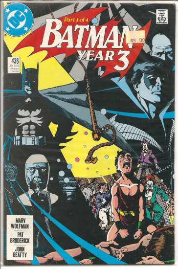 Batman # 436, 9.2 NM -