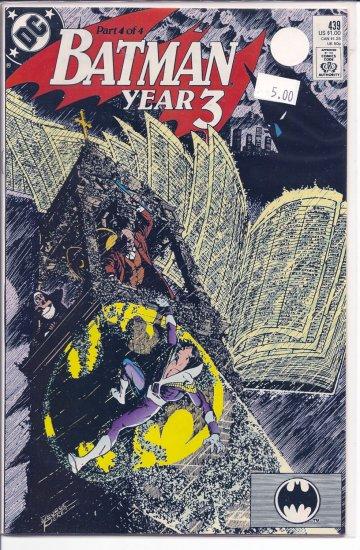 Batman # 439, 9.2 NM -