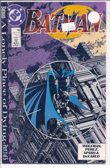 Batman # 440, 9.4 NM