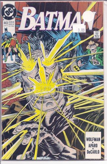 Batman # 443, 9.4 NM