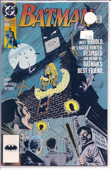 Batman # 458, 9.2 NM -