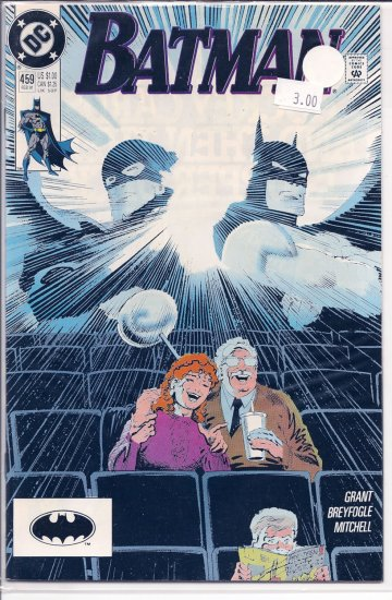 Batman # 459, 9.2 NM -
