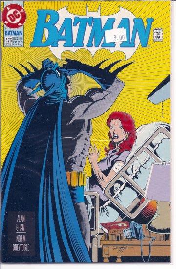 Batman # 476, 9.2 NM -