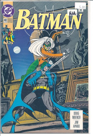 Batman # 482, 9.4 NM