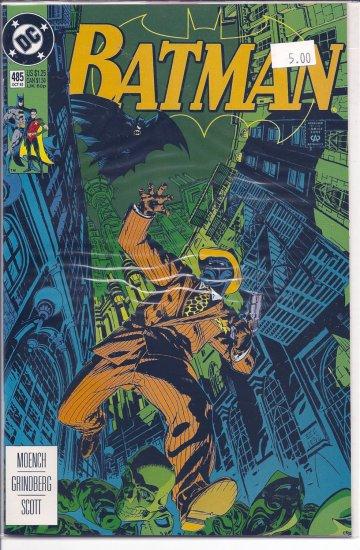 Batman # 485, 9.2 NM -