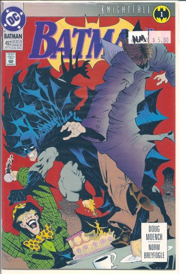 Batman # 492, 9.4 NM
