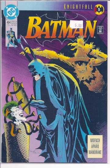 Batman # 494, 9.2 NM -