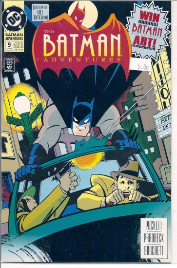 Batman Adventures # 9, 9.4 NM