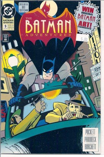 Batman Adventures # 9, 9.2 NM -
