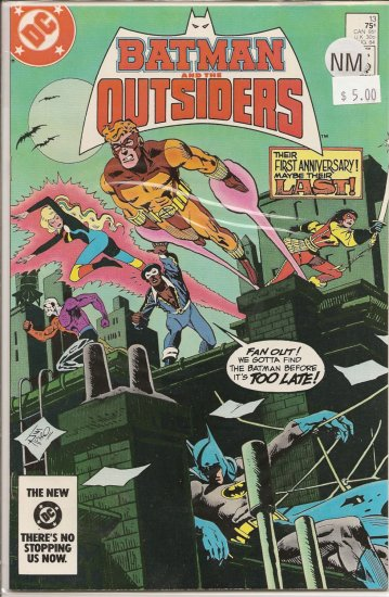 Batman and the Outsiders # 13, 9.4 NM