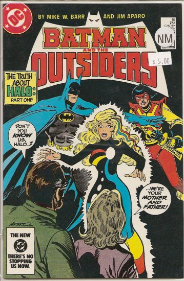 Batman and the Outsiders # 16, 9.4 NM