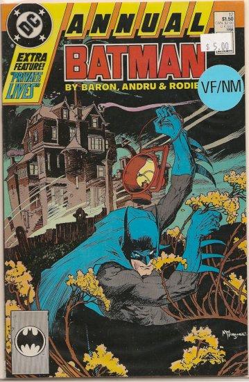 Batman Annual # 12, 9.0 VF/NM