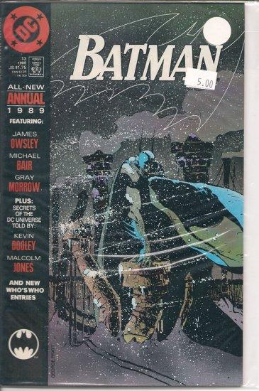 Batman Annual # 13, 9.2 NM -