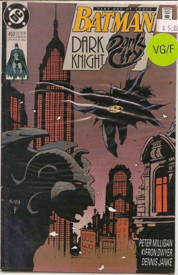 Batman Dark City # 452, 5.0 VG/FN