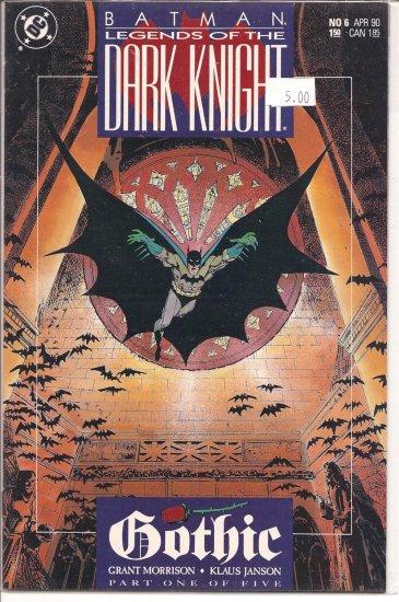 Batman Legends of the Dark Knight # 6, 9.2 NM -