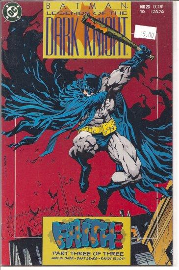 Batman Legends of the Dark Knight # 23, 9.2 NM -
