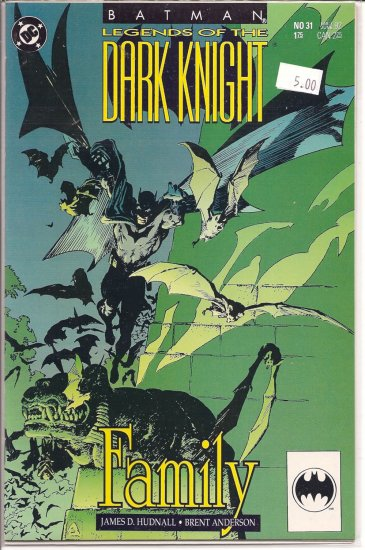 Batman Legends of the Dark Knight # 31, 9.2 NM -