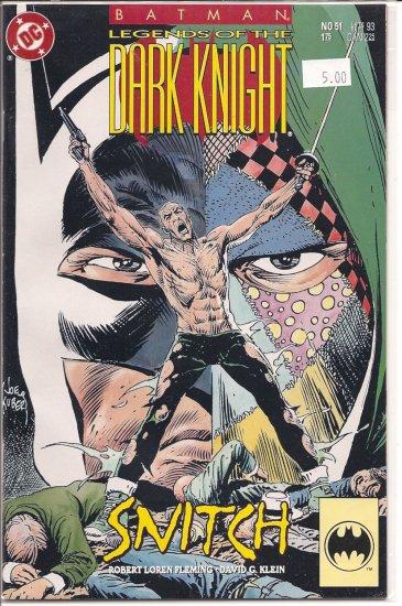 Batman Legends of the Dark Knight # 51, 9.2 NM -