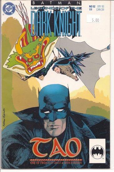 Batman Legends of the Dark Knight # 52, 9.2 NM -