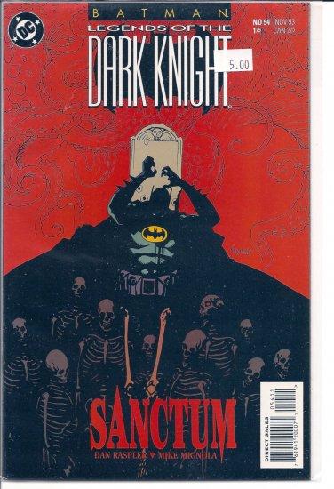 Batman Legends of the Dark Knight # 54, 9.4 NM