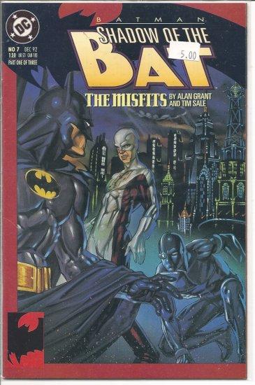 Batman Shadow of the Bat # 7, 9.4 NM